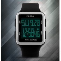 PALADA Men's T8110G Digital Sports Watches with LED Backlight