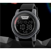 PALADA Men's T7511G Waterproof Sports Quartz Digital Wrist Watches with LED Backlight